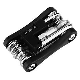 11-in-1 Multifunction Folding Carbon Steel Bicycle Repair Tool 22165(2/2.5/3/4/5/6/8mm)