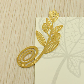 Zink legering Praktische Gunsten Boekenleggers  Briefopeners Tuin Thema Goud