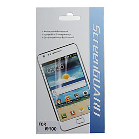 Protective Clear Screen Protector with Cleaning Cloth for Samsung Galaxy S2 I9100