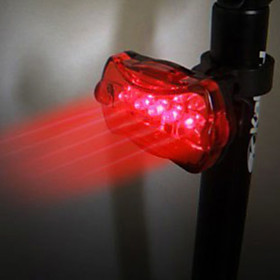 Xingcheng 5-LED 6-Modes Bicycle Tail Light with Super Bright Red LED XC-905T