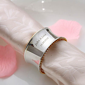 Personalized High Quality Silver Plated Napkin Ring