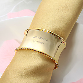 Personalized Nice Alloy Napkin Ring (More Colors)