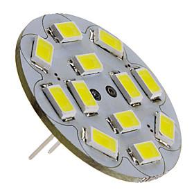 6W G4 LED Spotlight 12 SMD 5730 570 lm Natural White DC 12 V
