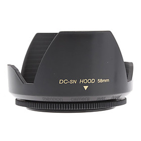 Mennon 58mm Lens Hood for Digital Camera Lenses 16mm, Film Lenses 28mm