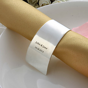 Personalized Alloy Napkin Ring (More Colors)