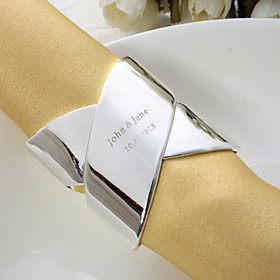 Personalized High Quality Alloy Napkin Ring (More Colors)