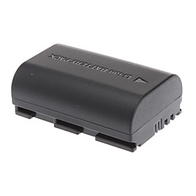 7.4V 1800mAh Li-ion Replaceable Camcorder/ DV/ Video Battery for Canon LP-E6 (Black)