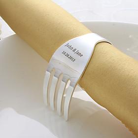 Personlig Fork Design Napkin Ring