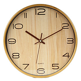 Modern Business Wood Wall Clock
