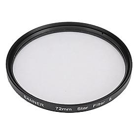 Banner 8 Pkt 72mm Stjerne Filter Til Canon, Nikon, Sony Og Mere