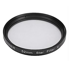 Banner 6pt 52mm Stjerne Filter Til Canon, Nikon, Sony Og Mere