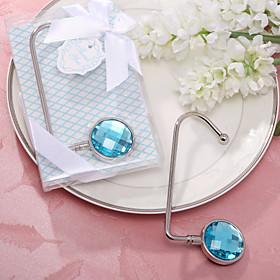 Round Acrylic Diamond Purse Valet Favor