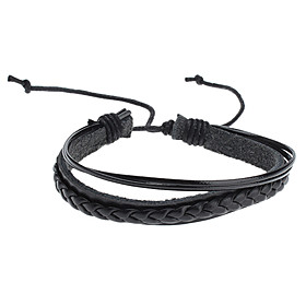ZX Men's Cool Style Braided Bracelet Jewelry Christmas Gifts