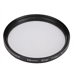 Banner 8 Pkt 58mm Stjerne Filter Til Canon, Nikon, Sony Og Mere