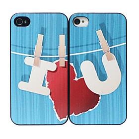 Kompatibilitet:iPhone 4/4S; Funksjoner:Bakside Dekke; Materiale:Plastikk; Stil:Nyhet; Farve:Multi-farge; M?l (cm):11.5 X 6 X 1; Vekt (kg):0.011
