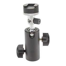 F-Shaped Flashlight Supporter for Camera or Camcorder