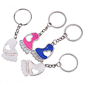 Personalized Key Ring - Feet (Set of 6 Pairs) 600061