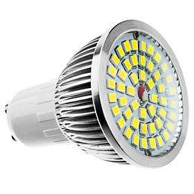 6W GU10/E27/E14/GU5.3/B22 LED Spotlight MR16 48SMD 610 lm Warm White / Cool White / Natural White AC 100-240 V
