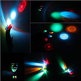Colorful LED Laser Finger Light (4-Pack)