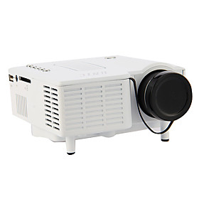 Mini HD Home LED Projector 320240 Cinema Theater, PC Laptop VGA input USB UC28