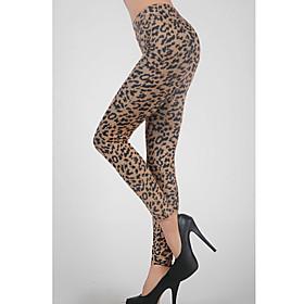 Sexy Leopard Legging(Waist:58-79cm,Hip:90-104cm,Length:95cm)