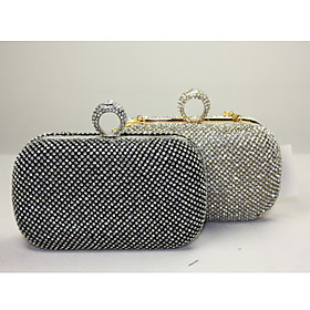 Lady's Noble Fashion Stylish  Diamond Clutch