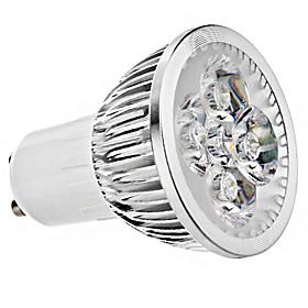 6W GU10 LED Spotlight 4 High Power LED 330 lm Warm White / Cool White AC 85-265 V 2681794
