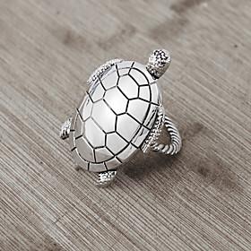 Set Of 4 Seashore Sea Turtle Napkin Ring