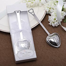 """""""Tea Time"""" Heart te infuser i elegant gaveeske"""