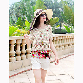 Women's Lace Crochet Crochet Top