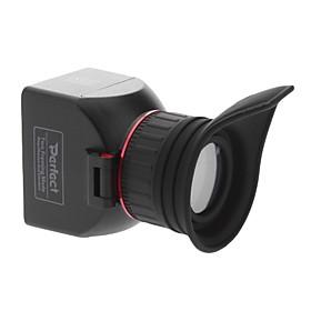 3x GGS Perfetto LCD mirino pieghevole per Nikon Canon Panasonic Pentax 3.0X Nuovo