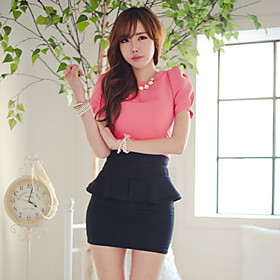 Women's Peplum Skirt