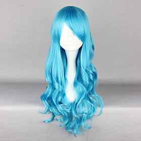 Turquoise Blue 70cm Classic Lolita Curly Wig