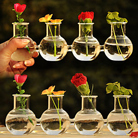Table Centerpieces Creative Connected Glass Vase Centerpiece  Table Deocrations