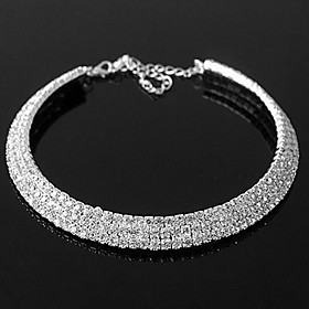 Exquisite Alloy With Rhinestone Women's Necklace