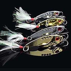 pcs Vibration/VIB Fishing Lures Hard Bait Metal Bait g/Ounce mm inch 706905
