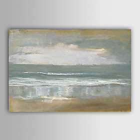 Hand-Painted Abstract Abstract Landscape Horizontal,Modern European Style One Panel Oil Painting For Home Decoration 401179