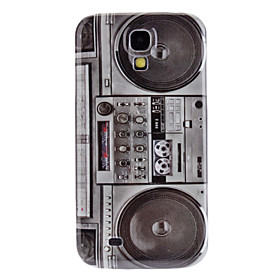 Retro Radio Pattern Hard Case and HD Screen Protector for Samsung Galaxy S4 I9500