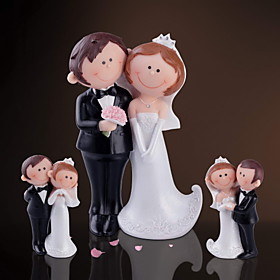 """""Happy BrideGroom"""" Decorative Figurine(3 Pieces)"" 708072"