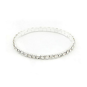 Women's - Tennis Silver Bracelet For Party Special Occasion Gift