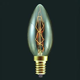 E14 40W лампа накаливания свечей лампочка в теплого белого