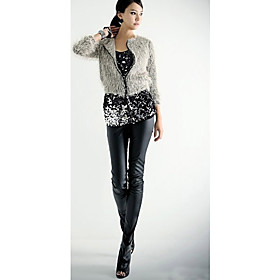 Women's Hot Sexy Faux Leather Leggings