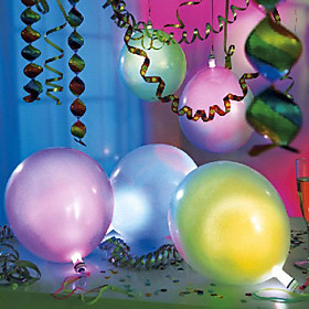 Led Light Flashing Balloons(Mixed Colors)