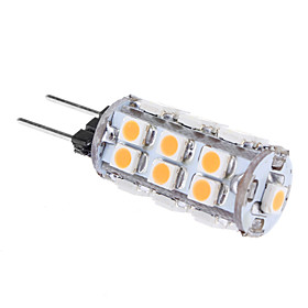 G4 1W 24x3528SMD 80LM 3000K Warm White Light LED Corn Bulb(12V))
