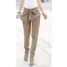 Women's Fashion Bow Harem Pants