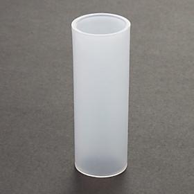 18650-26650 Batterij Converter Case Sleeve - White