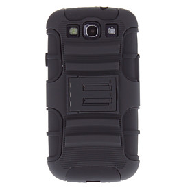 Rugged Heavy Duty Case with Belt Clip Holster Kickstand for Samsung Galaxy S3 I9300