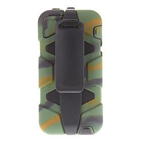 All Around Beskyttende Encapsulated Weather Resistant Case Med Clamp Til Iphone 5c (assorterede Farver)