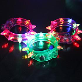 knipperende armband - set van 4 (meer kleuren)