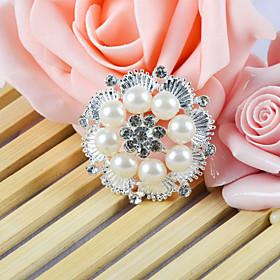 decoraci?e la boda de accesorios ornamentales con una perla veneciana redonda